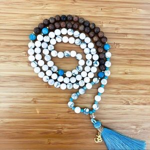 """Jewelry - SOLD """"Star of Tranquility"""" Mala Bead Necklace"""
